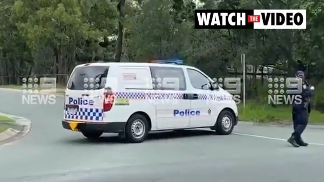 Gold Coast school in lockdown as Qld police enforce exclusion zone (9 News)