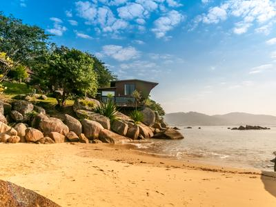 Exception Property with Private Beach, Santa Catarina, Brazil. Picture: Airbnb