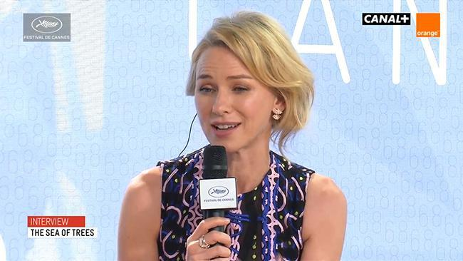 The Sea of Trees Cannes interview