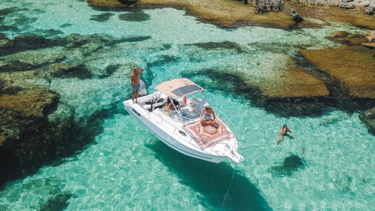 Rottnest Island in Western Australia is so popular, it's now booked out until Christmas. Picture: Jade collies and Jake Applebee