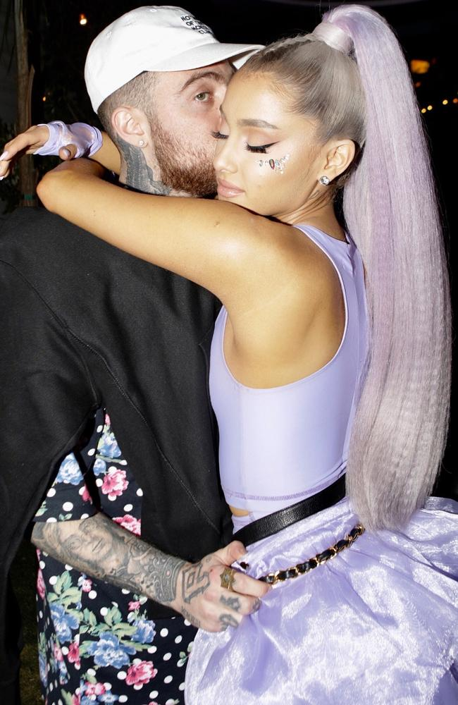 Ariana Grande and Mac Miller dated for two years