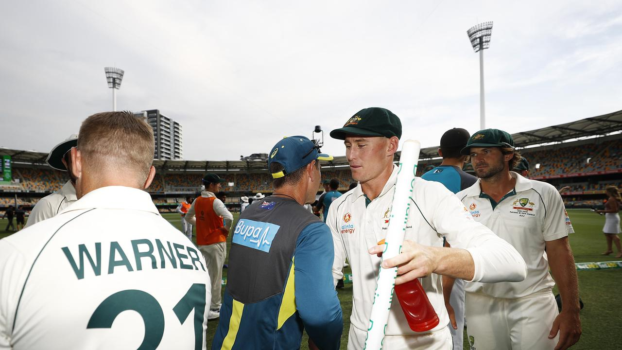 Marnus Labuschagne has been one of a few revelations under Justin Langer's watch. Photo: Getty Images