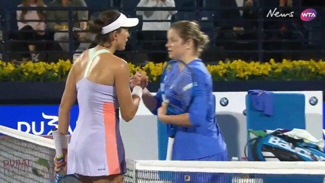 Dubai Tennis Championships: Muguruza advances to next round after defeating Clijsters