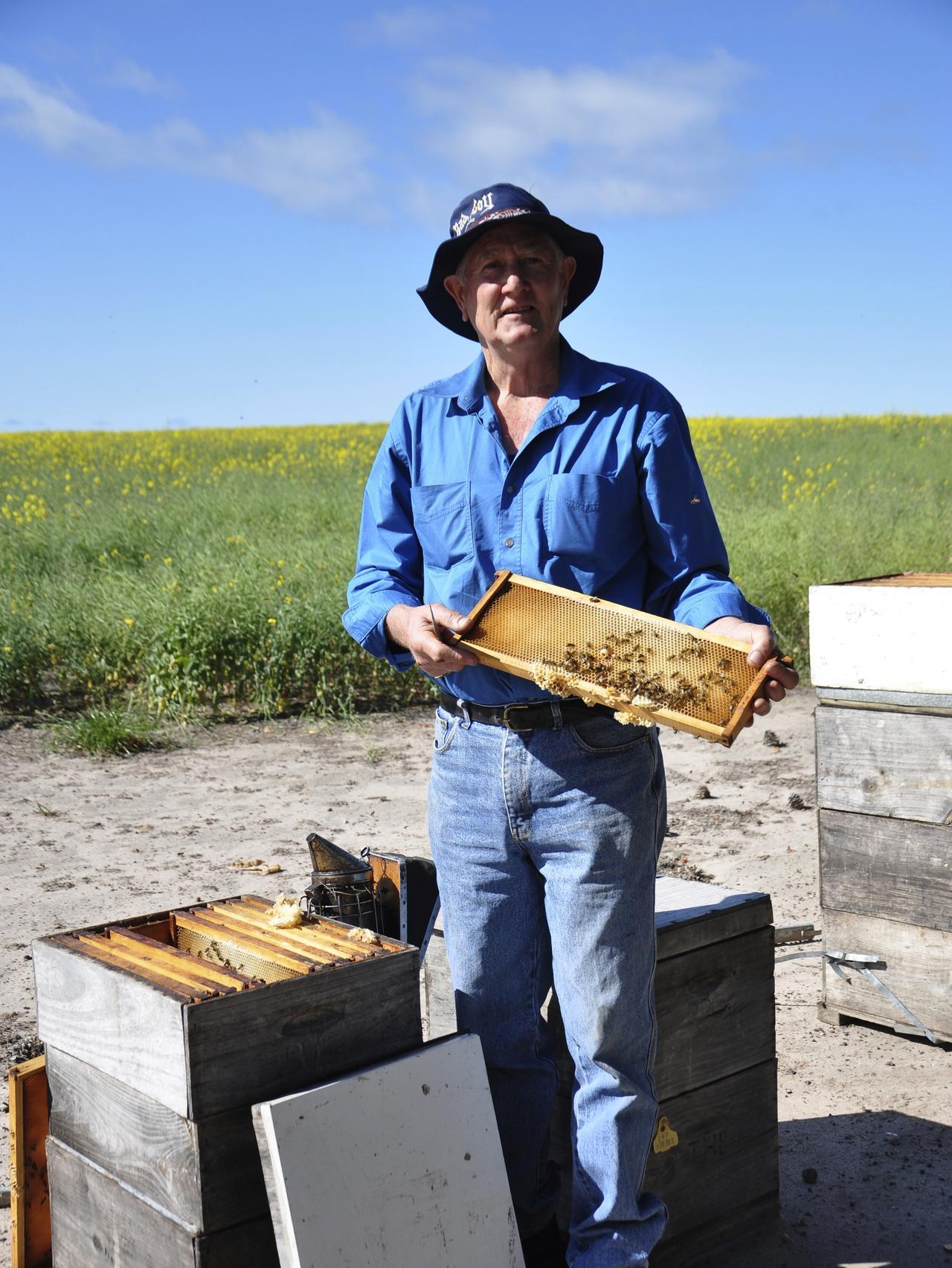 Supplied Travel Local beekeeper Peter Davis - Kangaroo Island