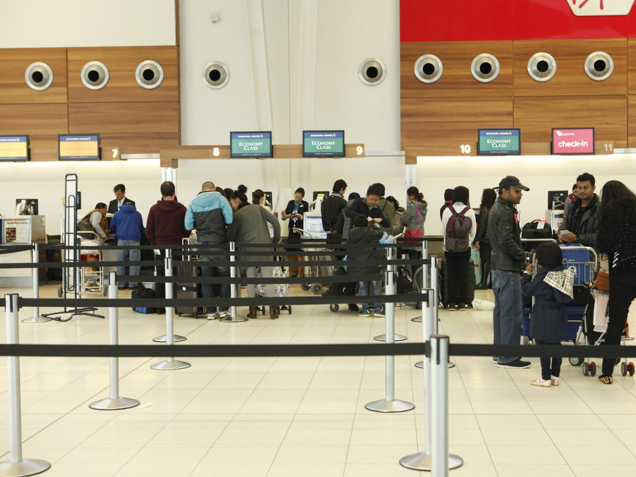 Airport Strike by Immigration & Border Protection