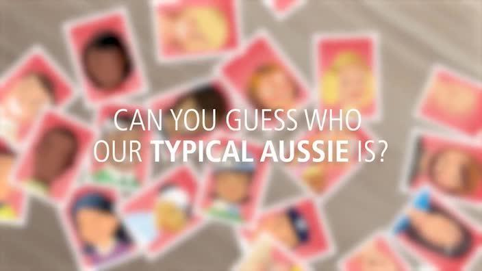 What does a 'typical' Aussie look like?