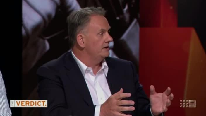 Mark Latham expresses strong views on Muslims in Western Sydney on 'The Verdict'