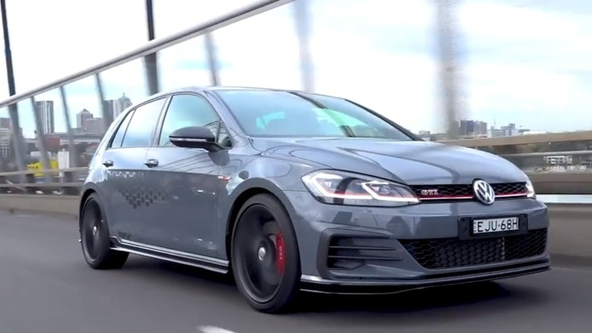 VW's new hardcore Golf GTI