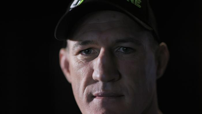 Paul Gallen says defeating Justis Huni would be one of his greatest sporting achievements. Photo: Getty Images