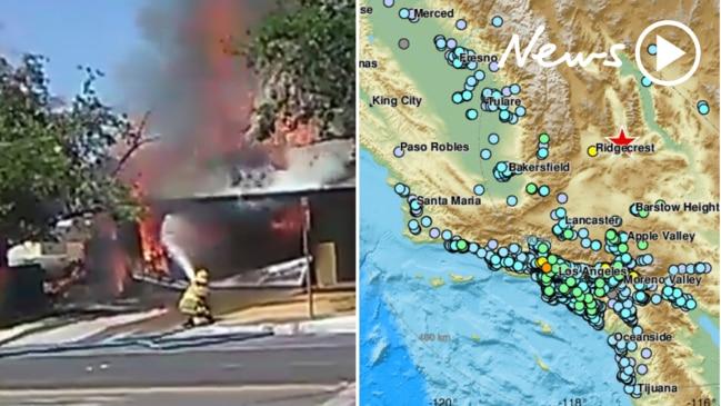 Biggest earthquake in a decade rocks California