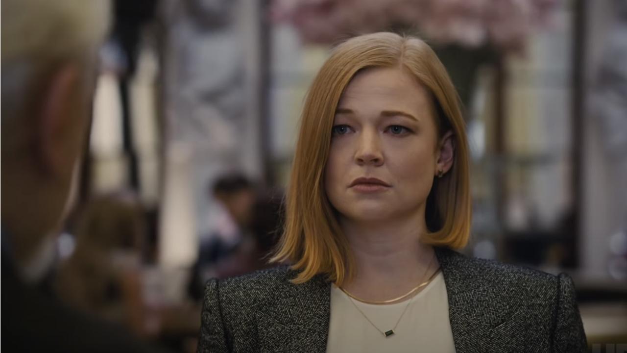 Sarah Snook in the Succession season 3 trailer.