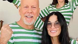 Bruce Willis is self-isolating with Demi Moore and their daughters.