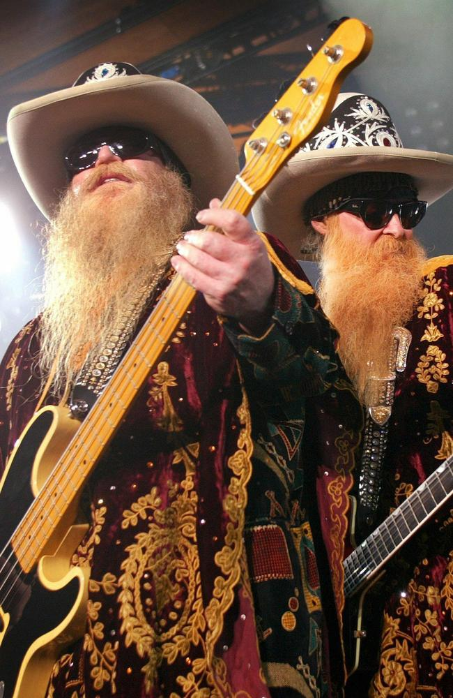 Dusty Hill and Billy F Gibbons became as known for their shaggy beards as they did their music.