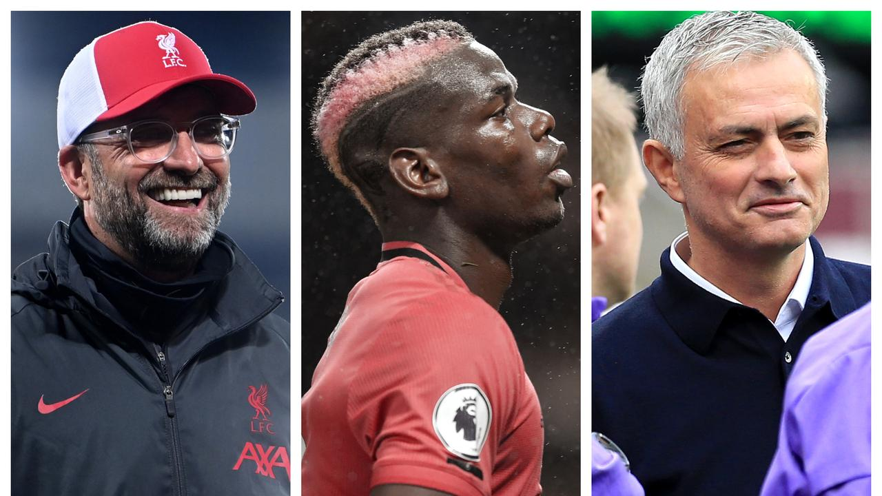 Jurgen Klopp, Paul Pogba and Jose Mourinho will all be feeling different right now.