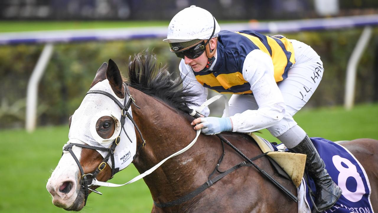 I'm Thunderstruck looks a potential Group horse and can noth another win at Flemington on Saturday. Photo: Racing Photos via Getty Images