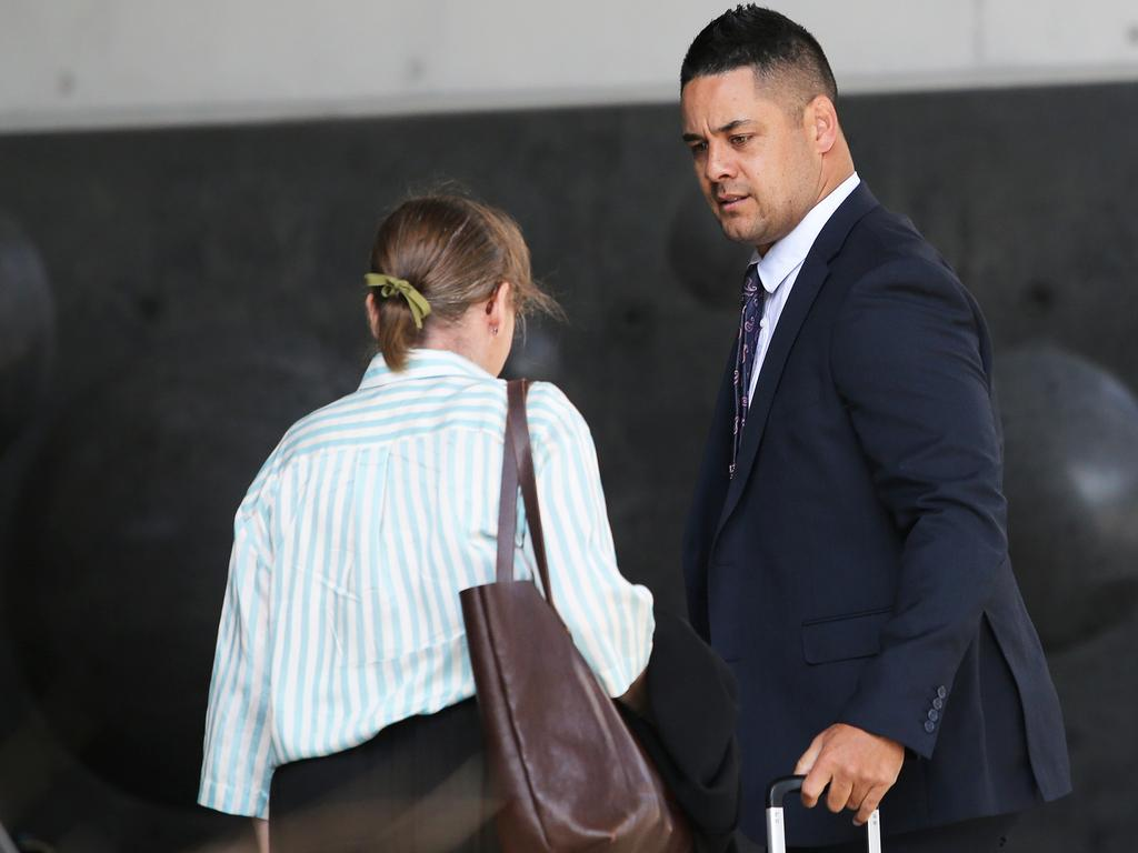 Jarryd Hayne has pleaded not guilty and says the sex was consensual. Picture NCA NewsWire/Peter Lorimer.
