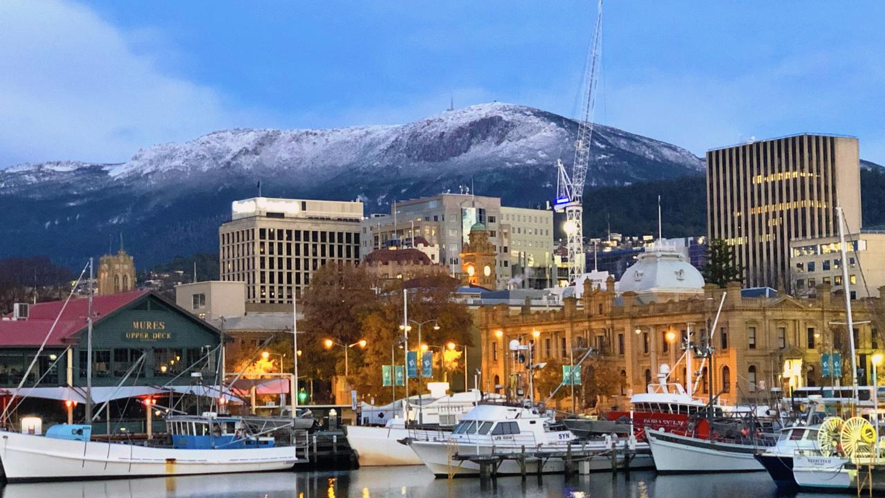 Recognising the four seasons may make sense in Hobart, where snow often falls on the mountains above but it can also hit 40C, but less sense in other part of Australia. Picture: KATY MORGAN