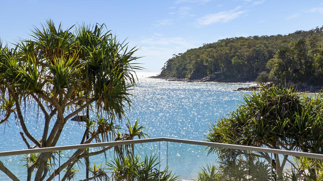The view from the property at 6/55 Hastings Street, Noosa Heads.