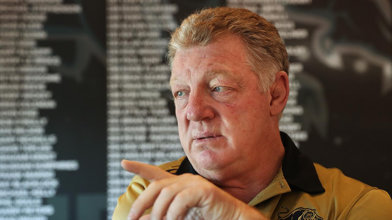 Phil Gould has been sounded out to oversee the Dragons' football department review. Picture: Brett Costello