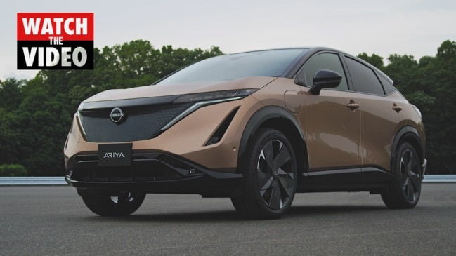 Nissan takes on Tesla with Ariya