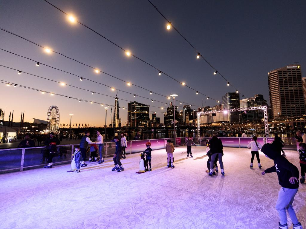Attractions and events like the Darling Harbour Winter Festival in Sydney will be on. Picture: Supplied
