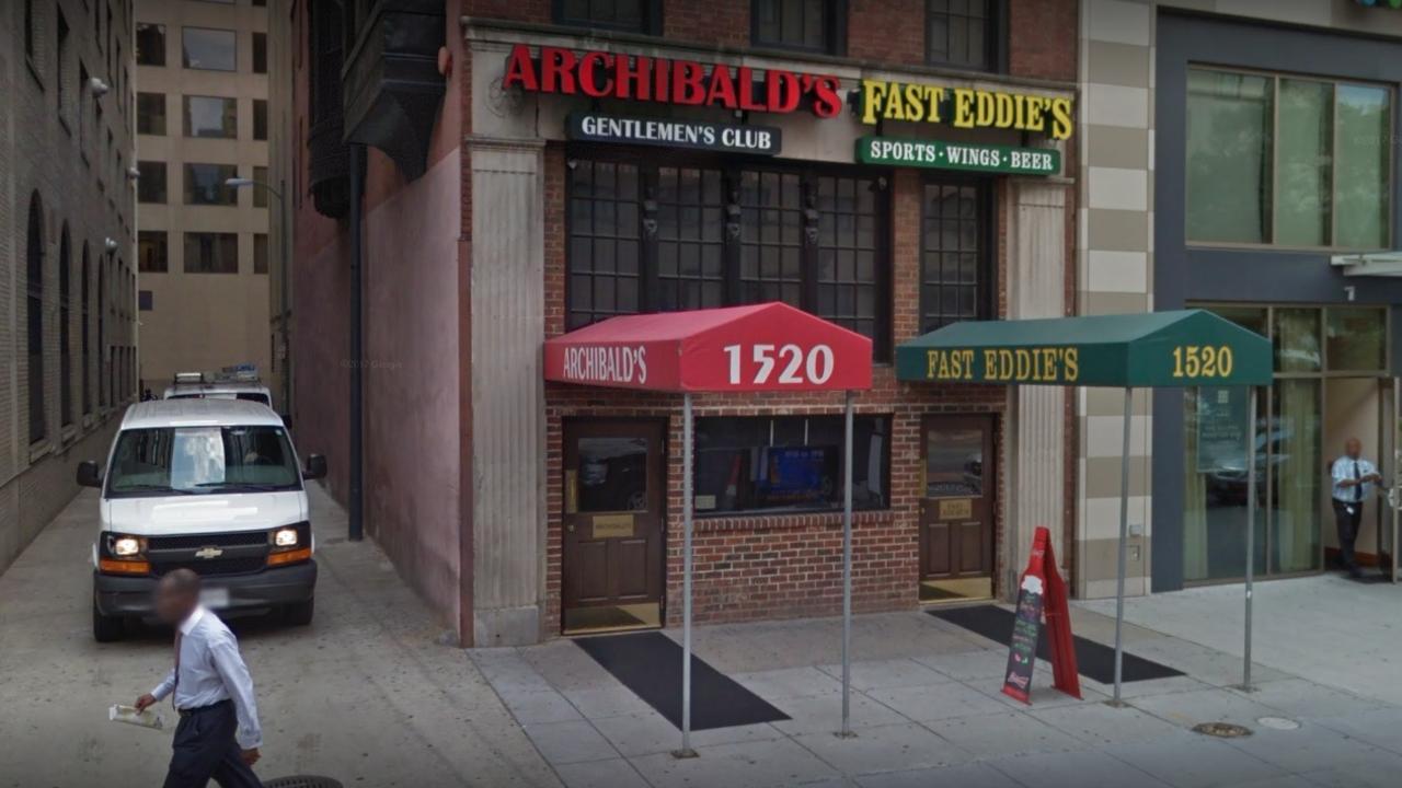Archibald's Gentlemen's Club in Washington DC. Picture: Google Maps