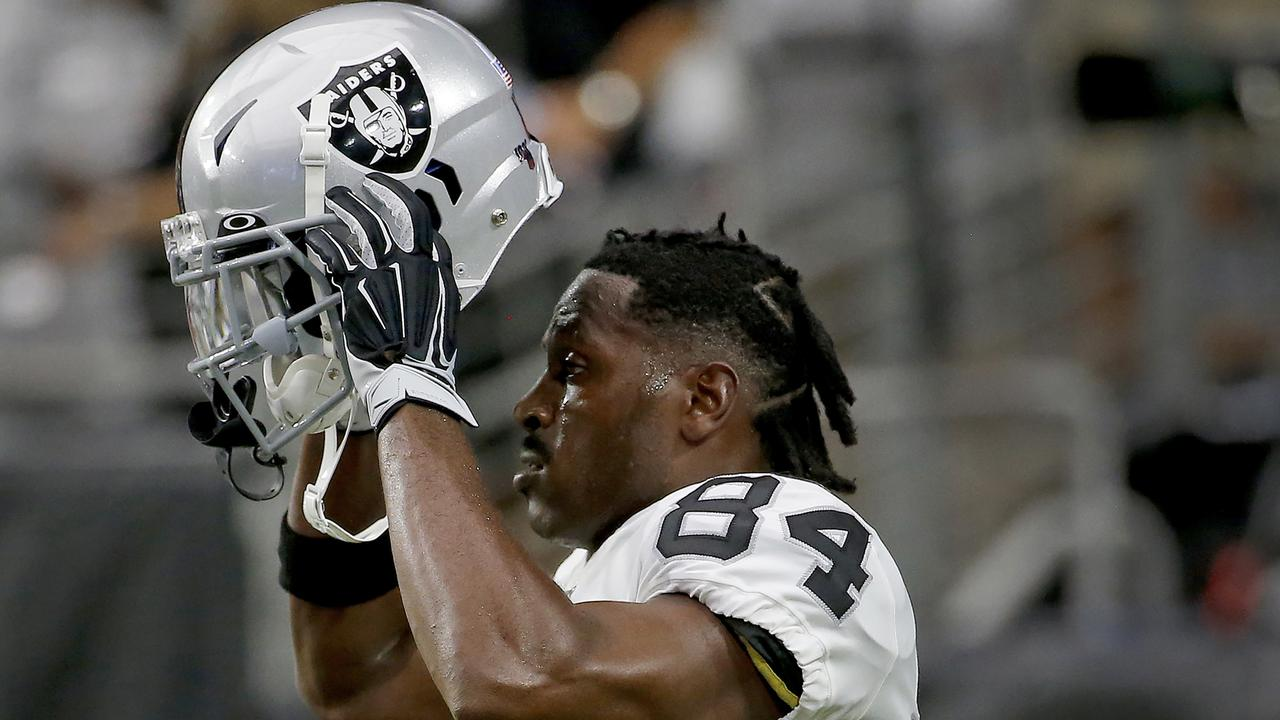 Antonio Brown's time in Oakland is over.