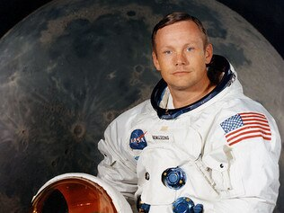 Portrait of astronaut Neil Armstrong, commander of the Apollo 11 moon landing mission, 16/07/1969.