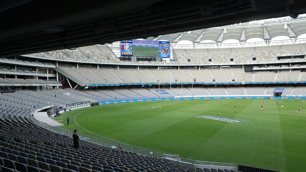 Perth's Optus Stadium would host games.