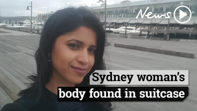 Preethi Reddy: Missing Sydney dentist's body found in suitcase