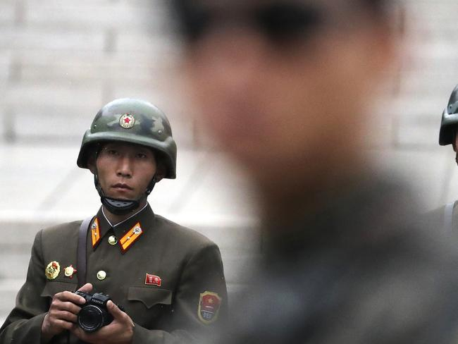 Defections by North Korean soldiers are rare. Picture: Supplied.