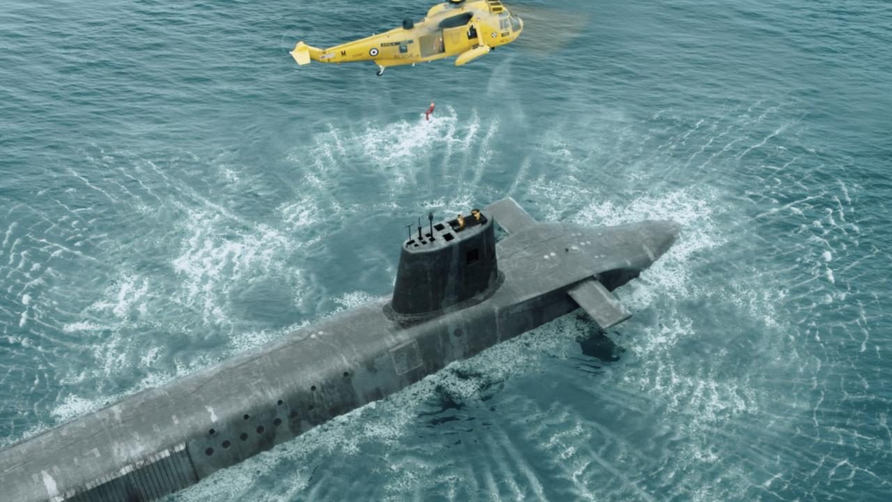 The world of nuclear submarines is top secret. Picture: BBC/Binge