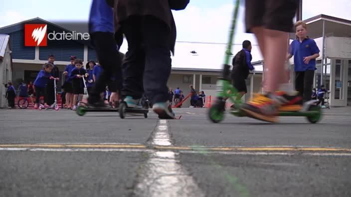 "Dateline: Kids run amok at NZ's ""no rules school"""