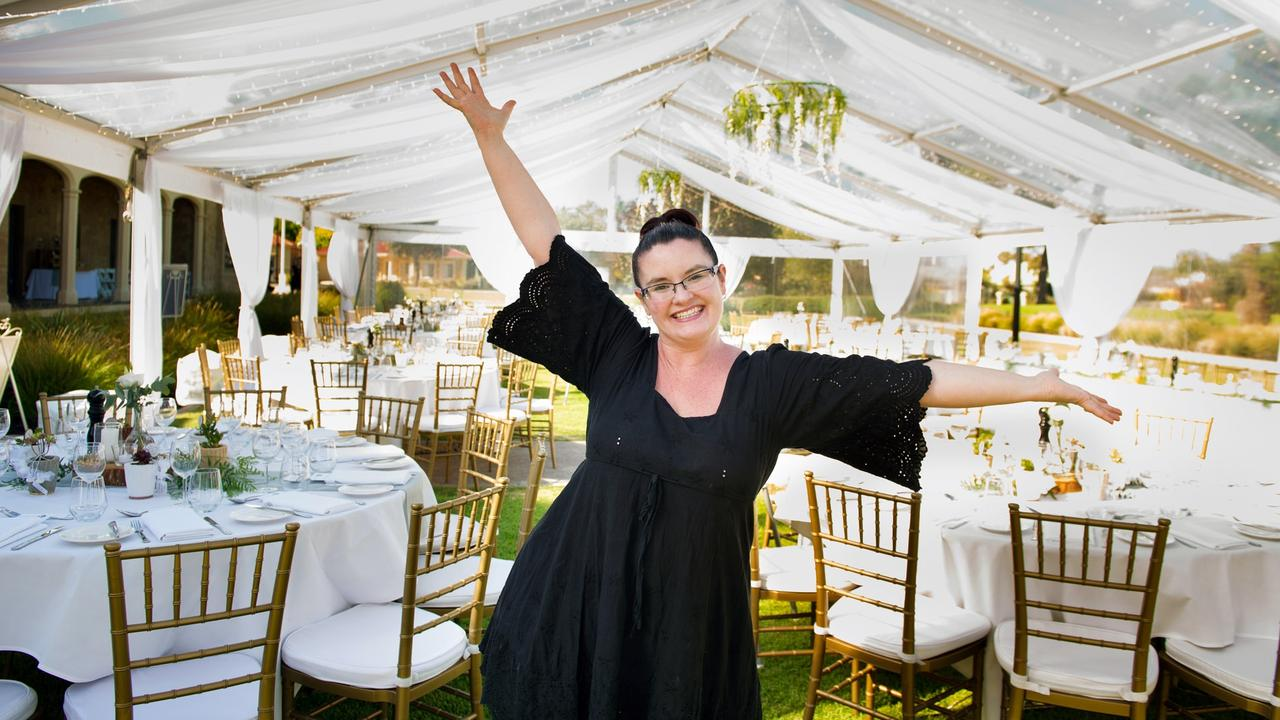 Kelly Markos, who owns wedding venues Utopia @ Waterfall Gully and Glanville Hall, has been campaigning for the change.