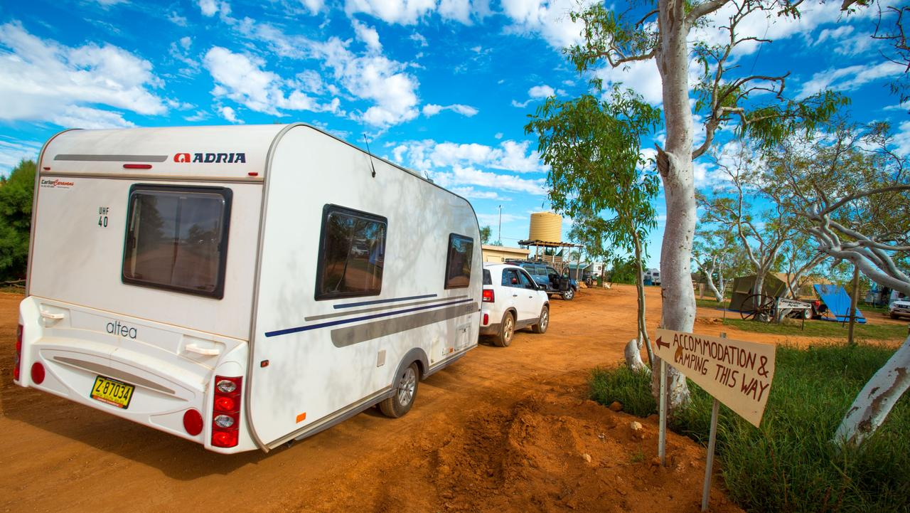 Bullara Station Stay campground. Picture: Tourism Western Australia