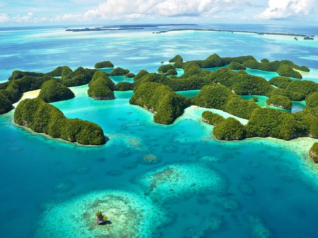 PALAU: This Pacific island nation of more than 500 islands is blessed with stunning scenery both on land and at sea. Diving is the top attraction, and when you look at the gorgeous, World Heritage-listed Rock Islands Southern Lagoon – a collection of hundreds of tiny limestone and coral islands – you'll see why. In December, Palau introduced the Palau Pledge, a world-first initiative that requires visitors to commit to following a sustainable tourism checklist when they enter the country. Tourists must promise to not stand on coral, avoid feeding fish, and respect local culture.