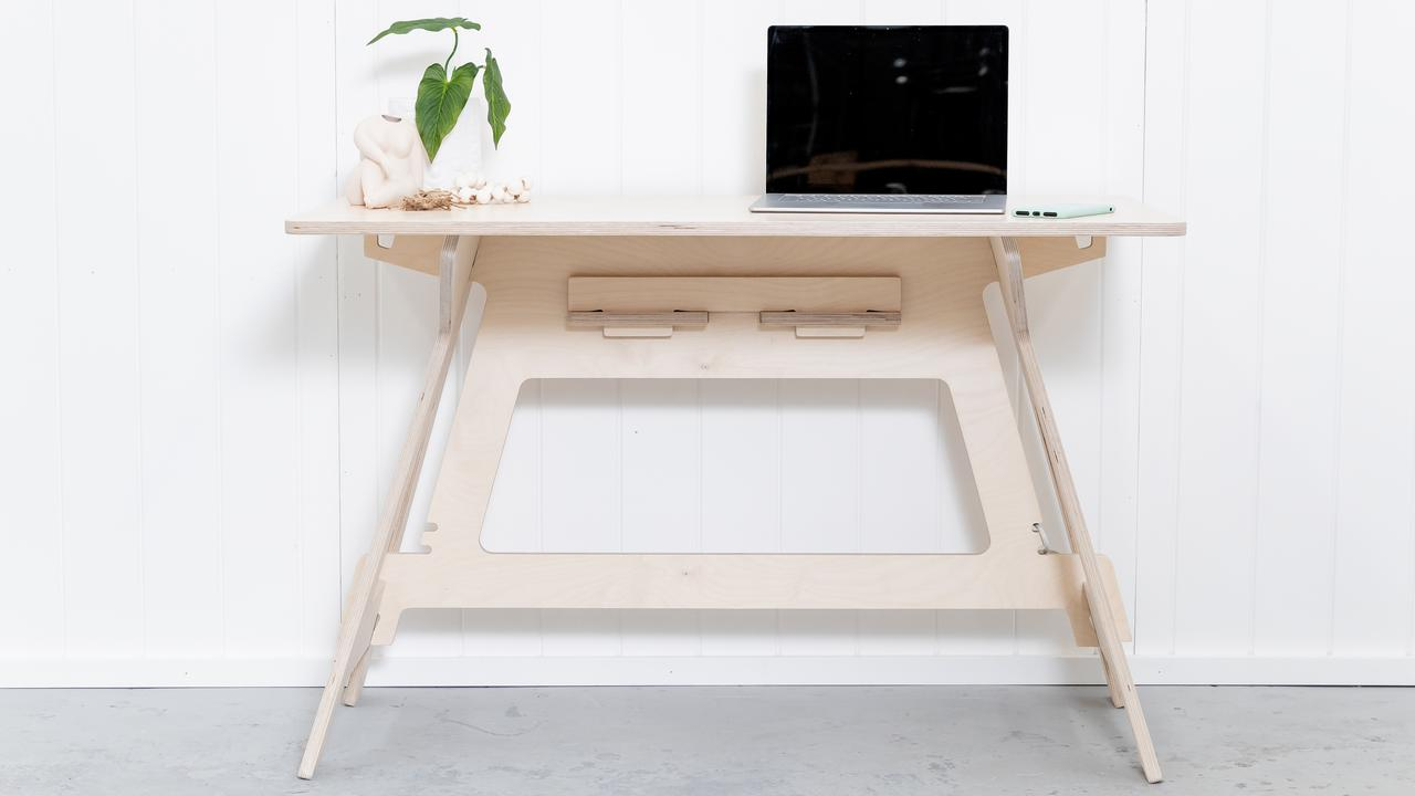 The desk that started it all for IsoKing. Picture: Supplied