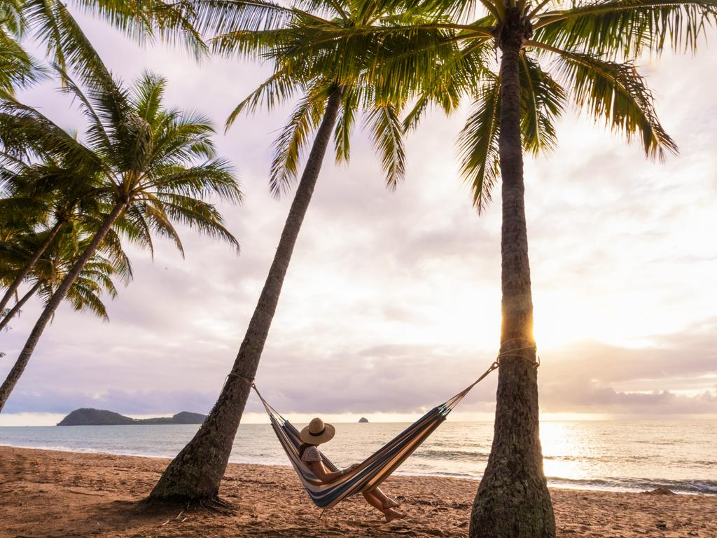 Palm Cove Beach, Cairns. Picture: Tourism Tropical North Queensland