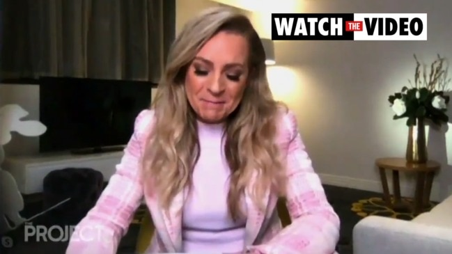 Carrie Bickmore on her husband's battle with brain cancer (The Project)