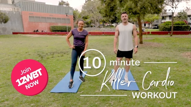 Michelle Bridges' 10 minute Bodyweight HIIT Workout