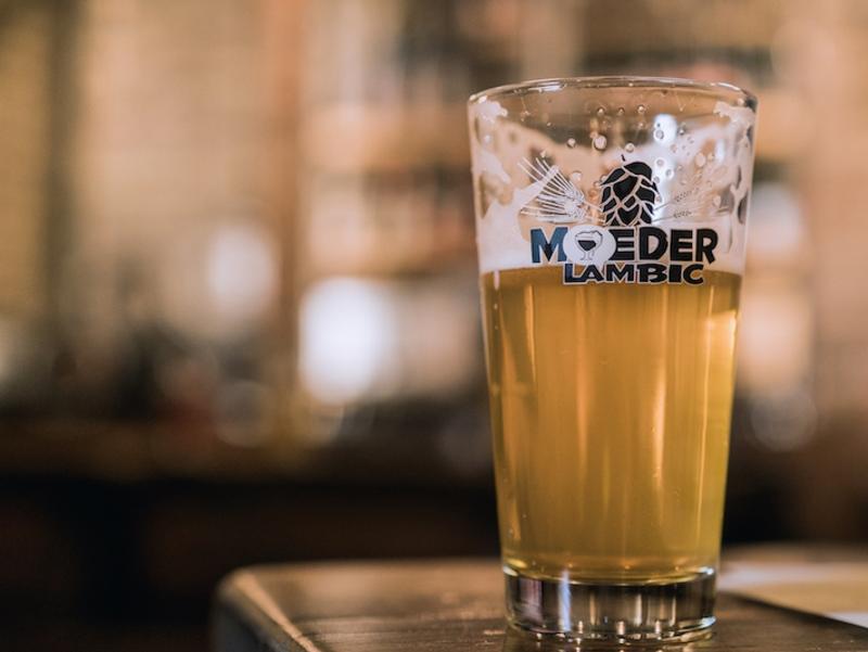 Moeder Lambic bar, Brussels, Belgium. John Huxley, Escape
