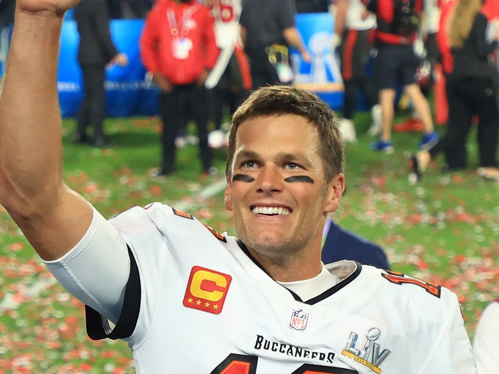 Tom Brady's even breaking records in the off-season.