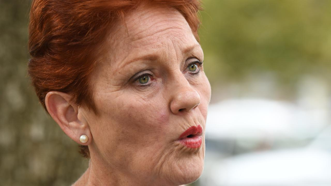 Pauline Hanson's countless scandals are coming home to roost. Picture: Tricia Watkinson