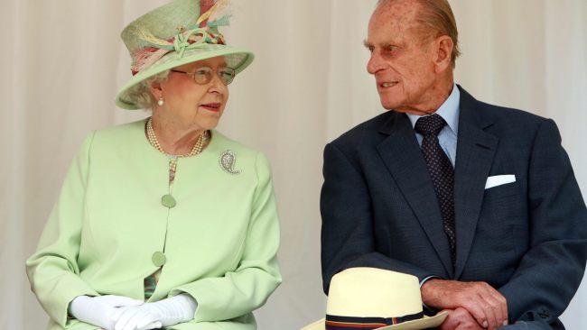 Queen Elizabeth and Prince Philip in 2011.