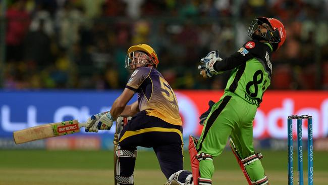 Chris Lynn in action in the IPL. Picture: Getty Images