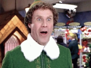 Holy cheese! Image: Elf, the movie.