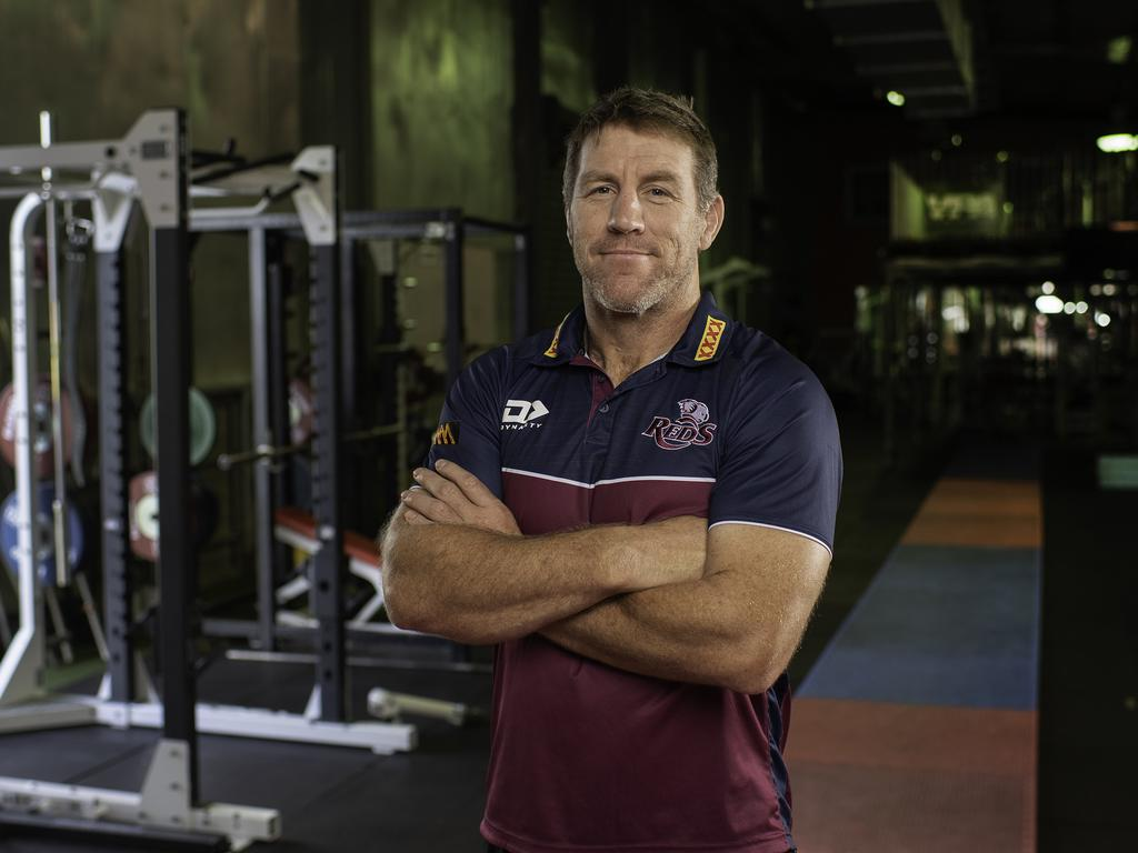 Queensland Reds coach Brad Thorn has extended his stay by two more years. Picture: NCA NewsWire / Dan Peled