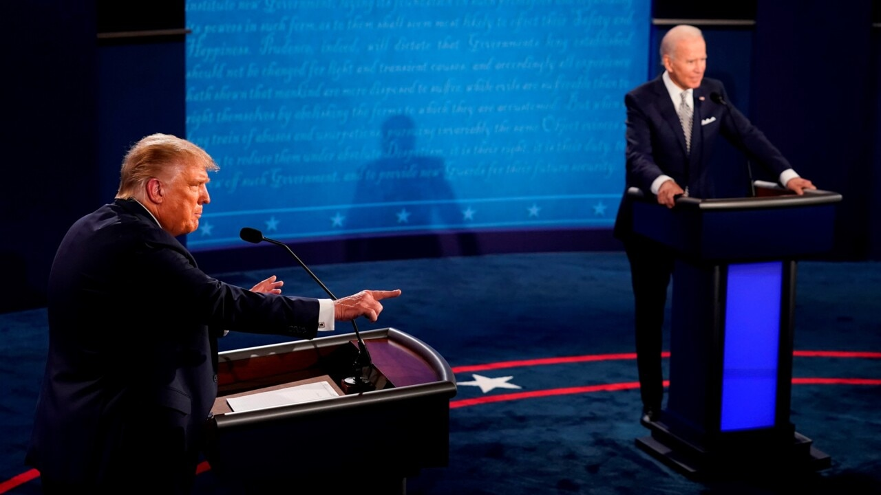 Remains to be seen 'if Trump can remain restrained' during next debate