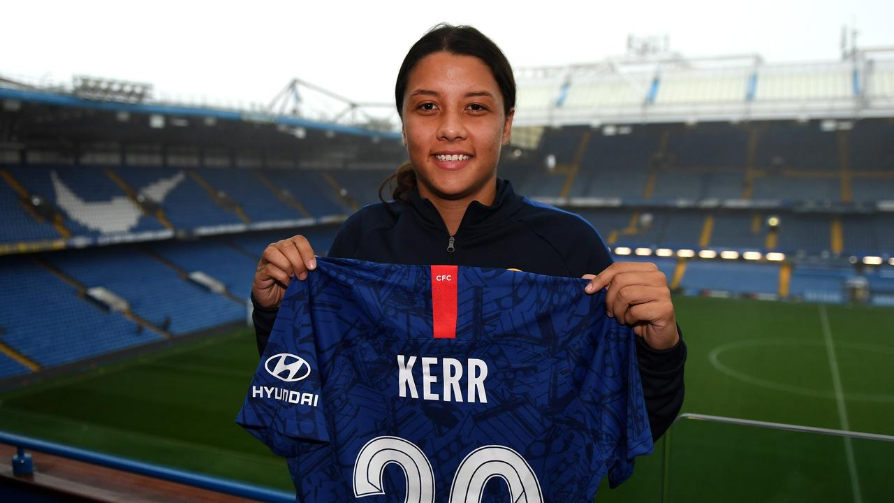 Matildas boss: Sam Kerr is underrated in Europe, but she's ready to prove them wrong