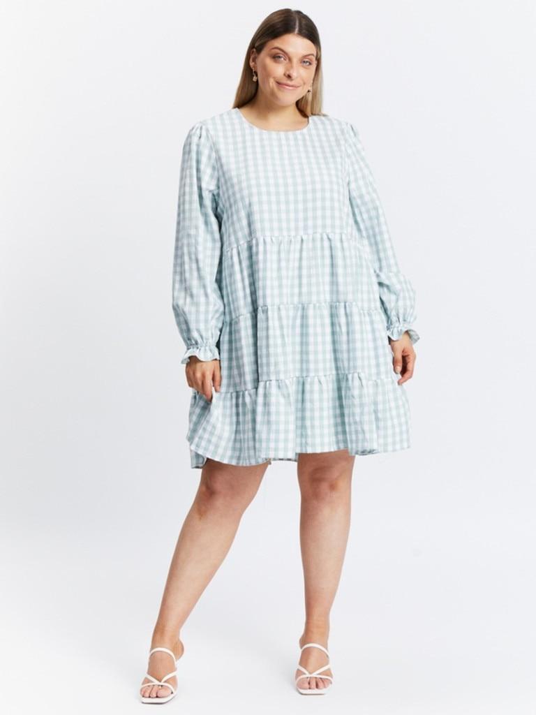 Atmos&Here Louisa Mini Dress in Sage